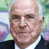 Tysklands længst siddende kansler, den nu 85-årige Helmuth Kohl.