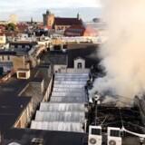 Brand i Illums Bolighus søndag d. 3 september 2017.