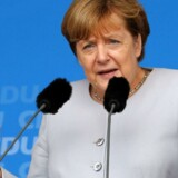 """Angela Merkel forventer, at Theresa May """"hurtigt"""" fortæller, hvilket forhold briterne ønsker til unionen, efter at de 23. juni stemte for at forlade EU."""