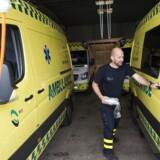 1 september overtog selskabet Bios en stor del af ambulance kørslen i Region Syddanmark. De vandt licitationen over Falck. Før opstarten 1 september har der været en del problemer med ansættelse af nok reddere til at udfører opgaven. (Arkivbillede)