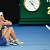Caroline Wozniacki vandt lørdag sin første grand slam-titel i karrieren.