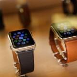 Apples smarture, Watch, får alligevel ikke den nye softwareopdatering straks, for der er fejl i den. Arkivfoto: Spencer Platt, Getty Images/AFP/Scanpix