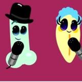 Se de dansende kønsorganer på YouYube. Se link nede i artiklen.