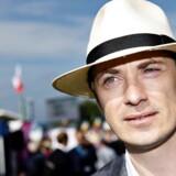 Morten Messerschmidt på folkemødet på Bornholm torsdag 16. juni 2016. (Foto: Nils Meilvang/Ritzau Scanpix)