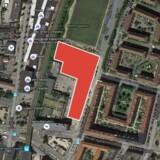 Det nye studieboligprojekt »Uptown« kommer til at ligge ved Nørrebro Station