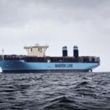 Efter et stort prishop i sidste uge er det atter blevet hverdag på markedet for containerfragt, hvor der i den seneste uge har været et prisfald på 14 pct. på den vigtige handelsrute mellem Asien og Europa. (Foto: Thomas Lekfeldt/Scanpix 2015)