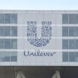 Unilevers hovedkvarter i Rotterdam. AFP PHOTO / JOHN THYS