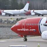 Norwegian glædersig over, at der kom flere forretningsrejsende i april.