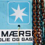 ARKIVFOTO 2012 af Mærsk's Dan feltet i Nordsøen- - Se RB 4/4 2016 07.26. Mærsk overvejer at stoppe gasproduktion i Nordsøen. A.P. Møller - Mærsk overvejer at lukke næsten al produktion af gas i Nordsøen i 2018, hvis der ikke findes en økonomisk løsning. Det oplyser Mærsk. (Foto: CLAUS FISKER/Scanpix 2015)