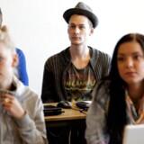 ARKIVFOTO: Elever under læreruddannelse.