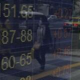 Den japanske valuta, yen, svækkes overfor de fleste andre valutaer tirsdag, efter syv dages styrkelse overfor dollaren.