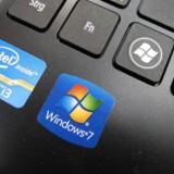 Der bliver stadig færre PCer med Intel indeni, fordi PC-salget daler. Til gengæld har den amerikanske chipgigant fået solidt fat i de store datacentre. Arkivfoto: Mauritz Antin, EPA/Scanpix