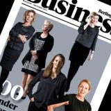 100 kvinder på toppen, forside, Berlingske Business Magasin
