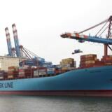 Arkivfoto: Maersk Lines køb af containerrederiet Hamburg Süd er kommet et stort skridt tættere på at blive til virkelighed. Myndighederne i Sydkorea har nemlig givet deres velsignelse til opkøbet - dog med betingelser.
