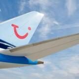 Rejseselskabet Tui oplyser, at et fly er nødlandet i Stockholm. Flyets destination var København. Arkivfoto.