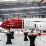 ARKIVFOTO: Boings nye værksted Norwegian fly Dreamliner. Københavns lufthavn