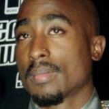 Tupac Shaku til MTV Music Video Awards i New York 1996.