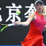 Arkivfoto. Caroline Wozniacki var skarpere end Anastasia Pavlyuchenkova på de vigtige bolde i anden runde af China Open.