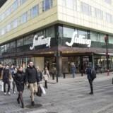 Den lave inflation er med til at stimulere dansk økonomi. Her stormagasinet Salling i Aarhus.