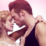 """Silas Holst og Mathilde Norholt i """"Dirty Dancing""""."""