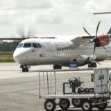 Arkivfoto. Flyselskabet SAS udvider sin kapacitet i Aarhus Lufthavn markant. Der bliver åbnet ruter til steder som Oslo, Stockholm, München og Mallorca, og samtidig vil der blive fløjet markant mere til København.