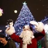 Det kan godt være svært at komme i julestemning, når man bor i Betlehem, fortæller Allan Sørensen.