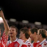 Danmark har før haft stor succes i Hummel og vandt EM 92 i trøjen.