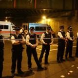 Flere andre mennesker blev såret ved angrebet, der skete ved moskéen ved Finsbury Park i det nordlige London.