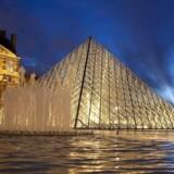 Den franske solkonge sendte tæppet fra Louvre til Danmark i det 17. århundrede som en gave.