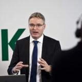 Per Bank må konstatere, at det er så som så med væksten hos Dansk Supermarked.