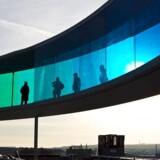 Olafur Eliassons i diameter 52 meter store Your Rainbow Panorama er blevet et vartegn for Aarhus.