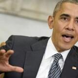 »Selv om Søren Espersen anvendte et gammelt udtryk »neger« om præsidenten og ikke »nigger«, som socialdemokraten Jeppe Kofod strammede det til, så bliver det i USA opfattet som en provokation, at man overhovedet går op i hudfarven på landets leder.« (AFP PHOTO / Brendan Smialowski)