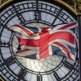 Arkivfoto: Storbritanniens flag.