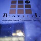 Biotrials laboratoriebygning i Rennes, Frankrig.
