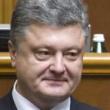 Ukraines præsident, Petro Porosjenko. Her under indsættelsesceremonien for nylig.