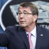 USAs forsvarsminister, Ashton Carter.