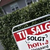 I en ny analyse af boligmarkedet estimerer realkreditinstituttet godt nok, at de kommende år generelt vil byde på en positiv prisudvikling for huse og ejerlejligheder.(Foto: Henning Bagger/Scanpix 2015)