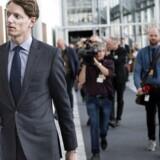 Robert Mærsk Uggla til A.P. Møller-Mærsk generalforsamling tirsdag d.12. april 2016 i Bella Center i København.