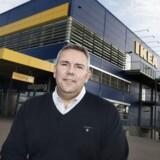 Dennis Balslev, administrerende direktør i IKEA Danmark, kører efter planen og leverer en omsætningsvækst på 4 procent i regnskabsåret 2013/2014