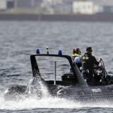 Ubåd søgning ud for Middelgrundsfortet.