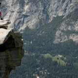 Half Dome i Yosemite National Park er en lidt anderledes vandretur.