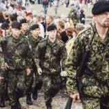Privatfoto af Lars Kragh fra da han var soldat.