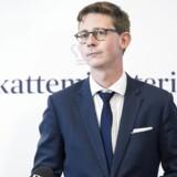 Karsten Lauritzen (V), skatteminister. (Foto: Jens Nørgaard Larsen/Scanpix 2015)