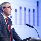 Realkredit Danmarks adm. direktør, Carsten Nøddebo, følger nu i Nykredits fodspor og hæver bidragssatserne for de kortfristede flexlån.