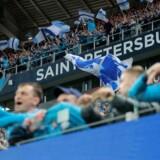 Zenit-fans er anklaget for at have optrådt racistisk i forbindelse med sidste uges Europa League-kamp mod tyske RB Leipzig.