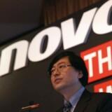 Der er ikke lige meget vind i alle sejlene hos Lenovo, må topchef Yang Yuanqing konstatere men dog glæde sig over, at han tjener flere penge. Arkivfoto: Bobby Yip, Reuters/Scanpix