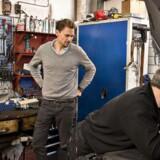 Virksomheden Autobutler indhenter tilbud fra værksteder og skaber overblik over mekanikerregningen. Her direktøren Peter Michael Oxholm Zigler.