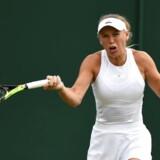 Igen blev ottendedelsfinalen endestationen for Caroline Wozniacki, der tabte i to sæt til Coco Vandeweghe.