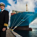 Dick S. Danielsen er kaptajn på »Majestic Mærsk« - det andet i serien på 20 skibe, der er verdens største containerskibe.