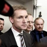 »Vi kan jo ikke se bort fra, at udgifterne til flygtninge og migranter stiger,« siger Kristian Thulesen Dahl, formand for DF.